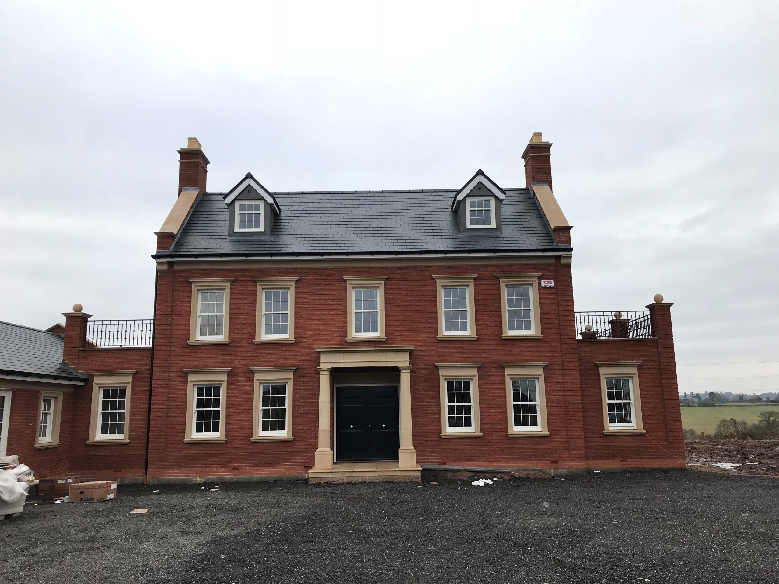 Astley House with Amber Valley Stone