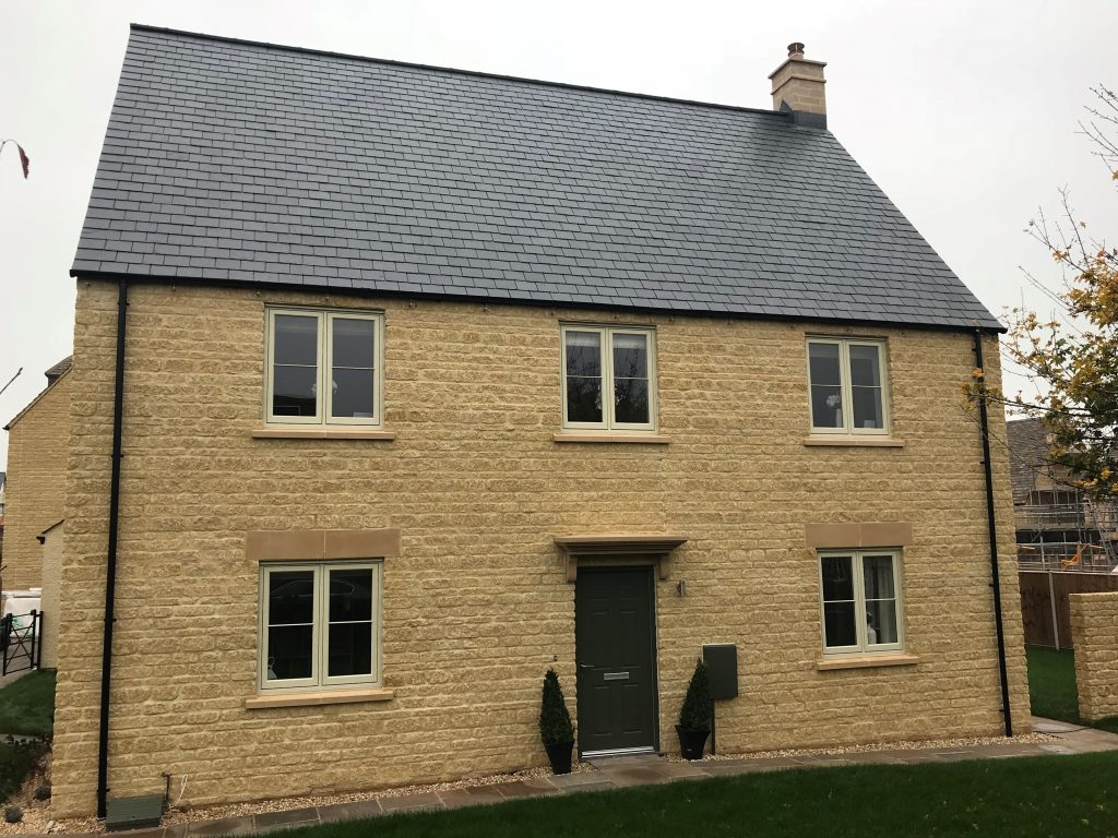 Freeman Homes and Amber Valley Stone 1