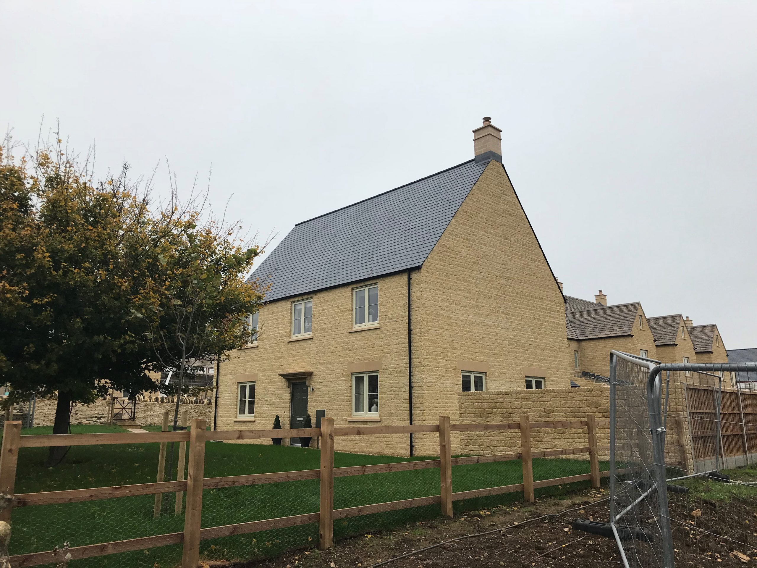 House with Amber Valley Stone
