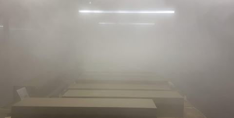 Vapour Curing Chamber