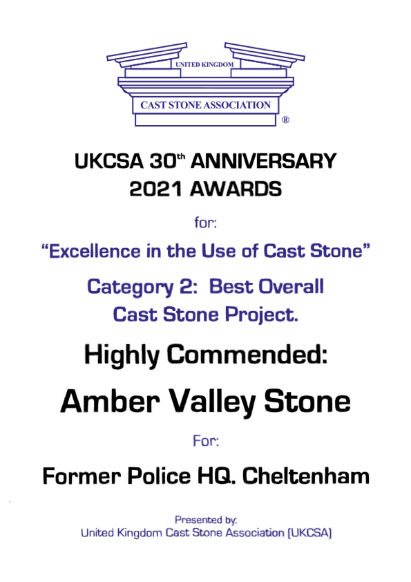 UKCSA Awards 2021 Highly Commended