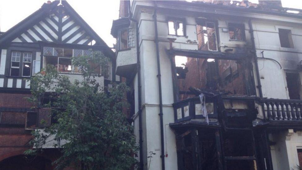 Cadbury House fire