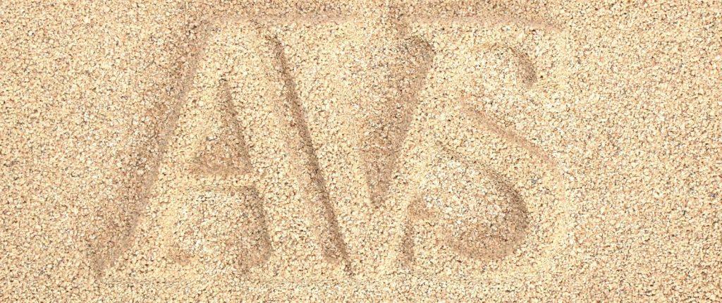 Sample of AVS Ivory